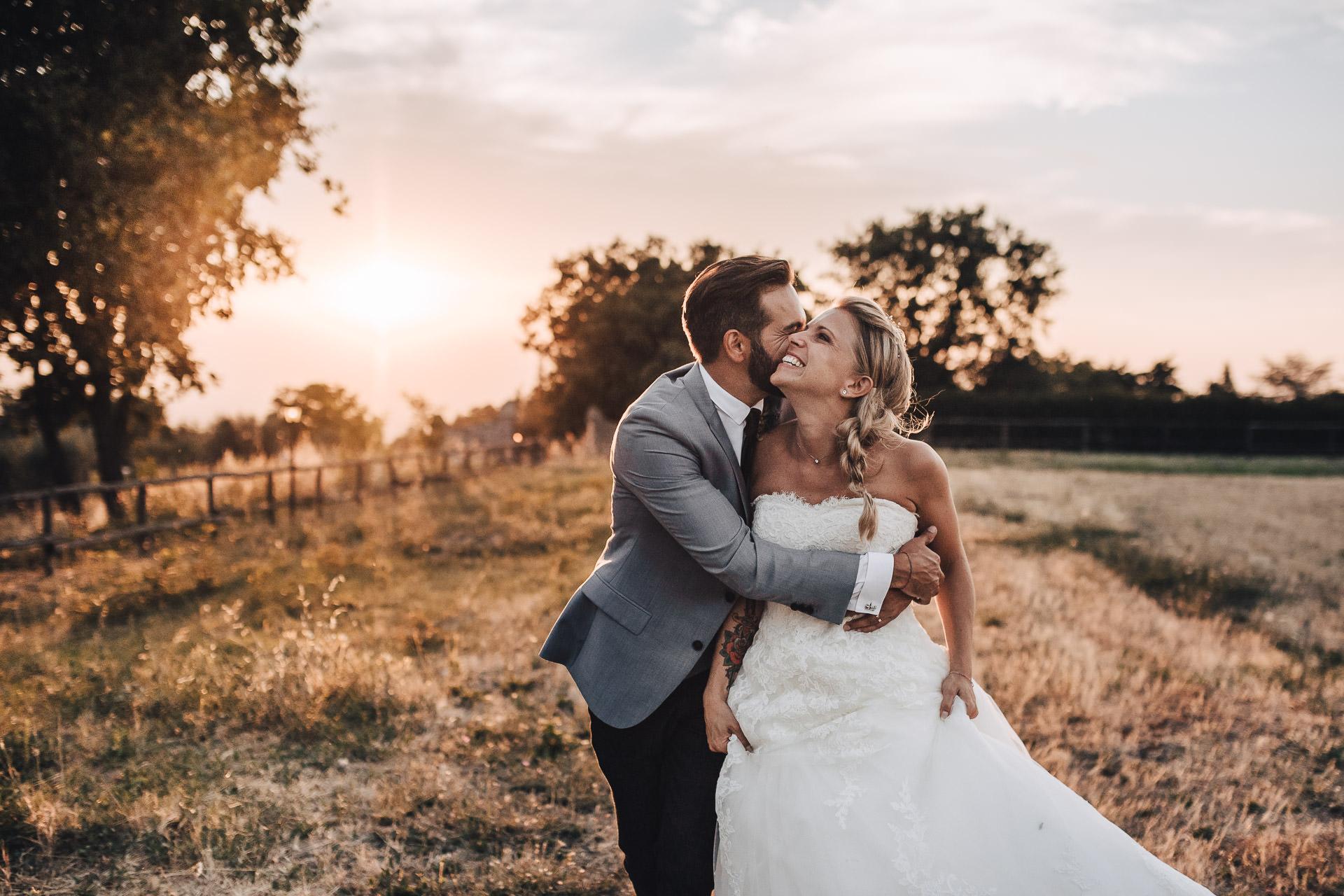 Matrimonio Boho nella natura