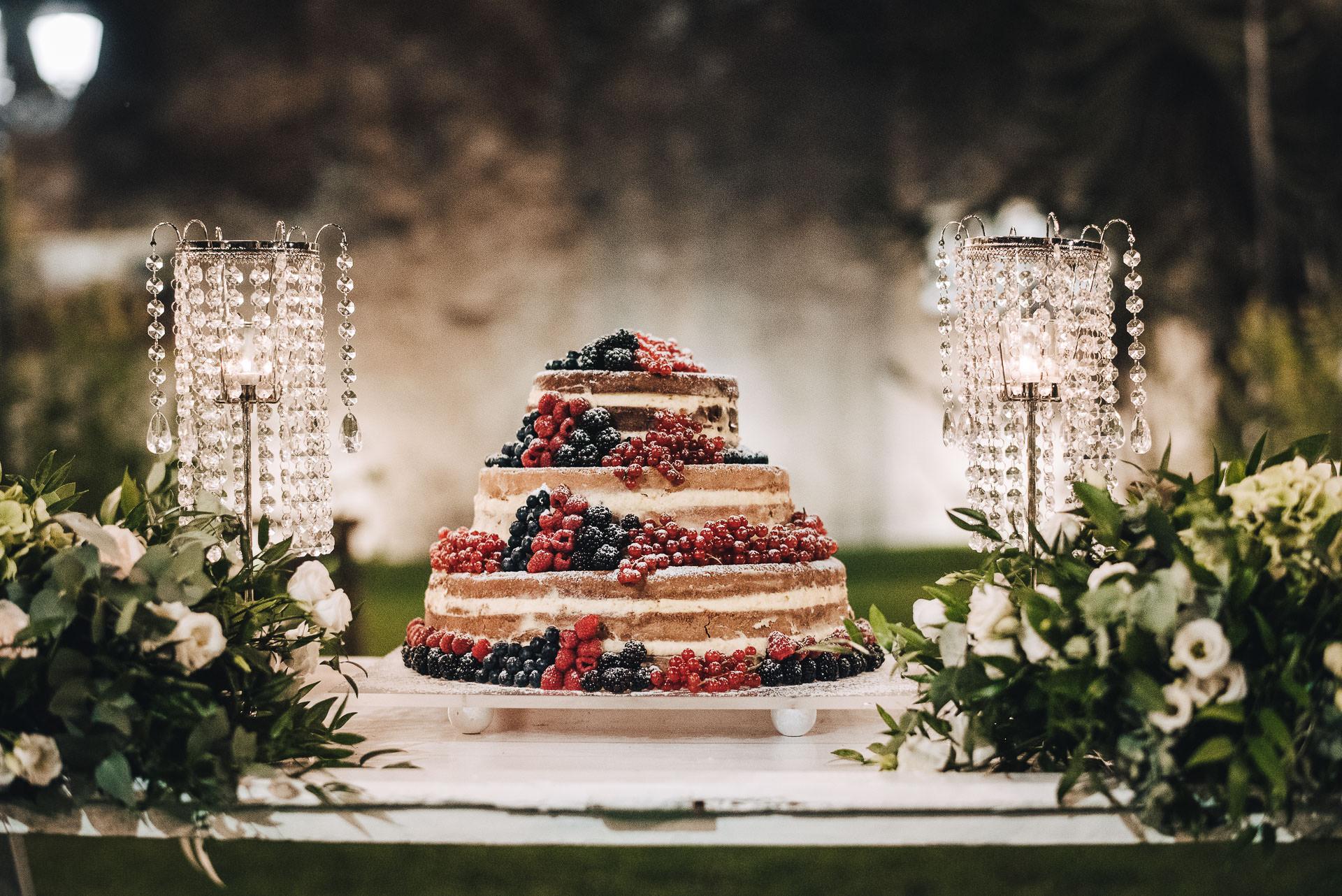 Matrimonio Residenza antica Flaminia_torta